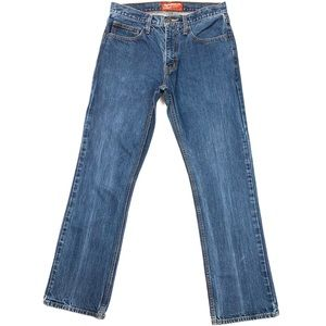 Men's Arizona Boot Cut Jeans Cotton (31Wx32L)
